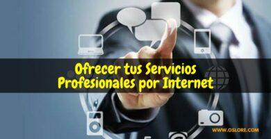 La mejor opción para ofrecer servicios profesionales por internet